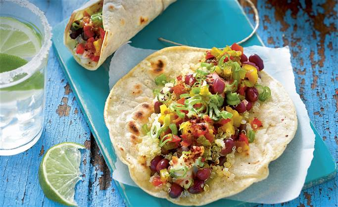 Recetas de comida vegana mexicana