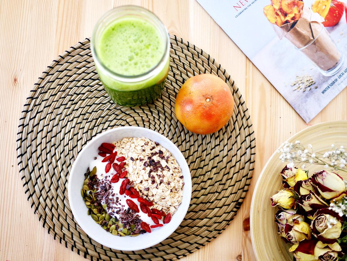 Desayunos ricos en antioxidantes