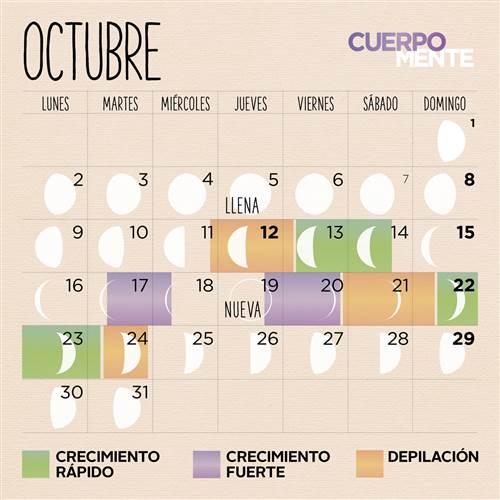 Calendario lunar octubre 2017 para cortarse el kalentri 2018 for Calendario lunar de octubre 2016