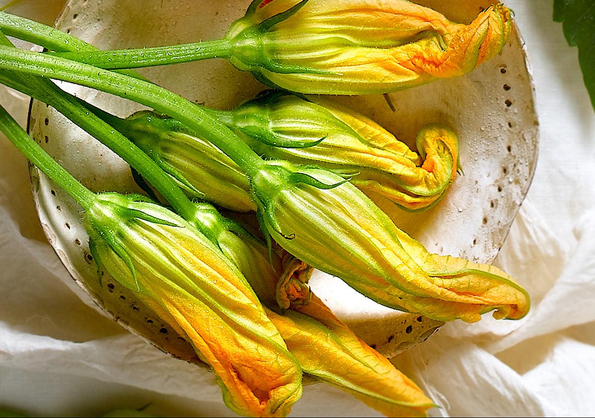 Flor de calabacín -Foto: Cuerpomente