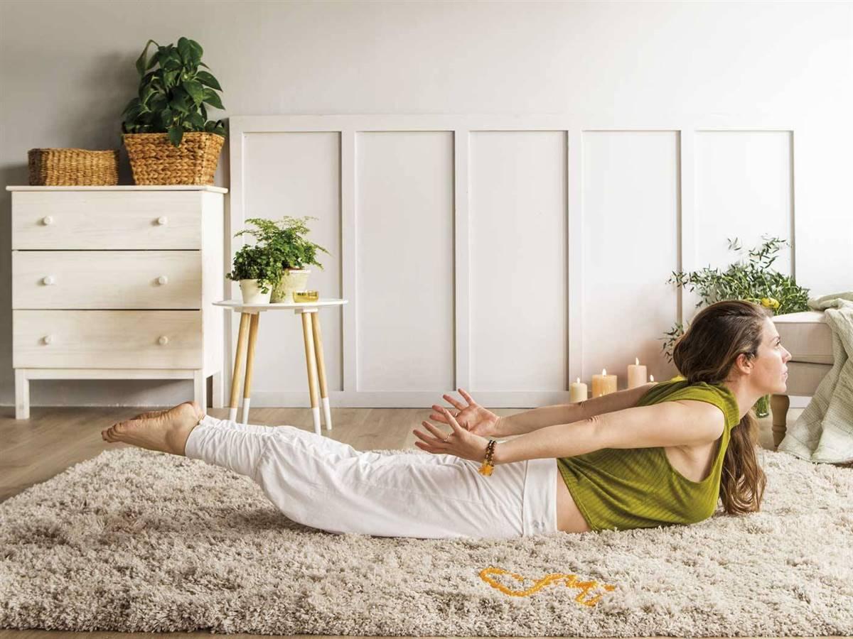5. 5.El saltamontes: respira y llénate de energía