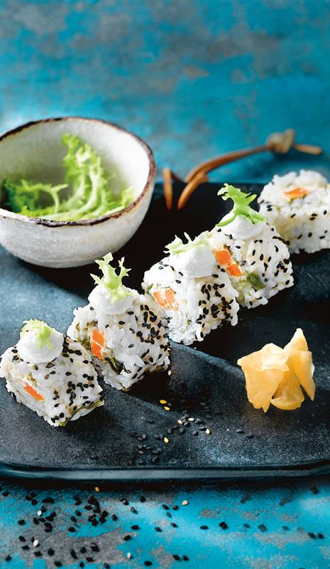 California maki vegano