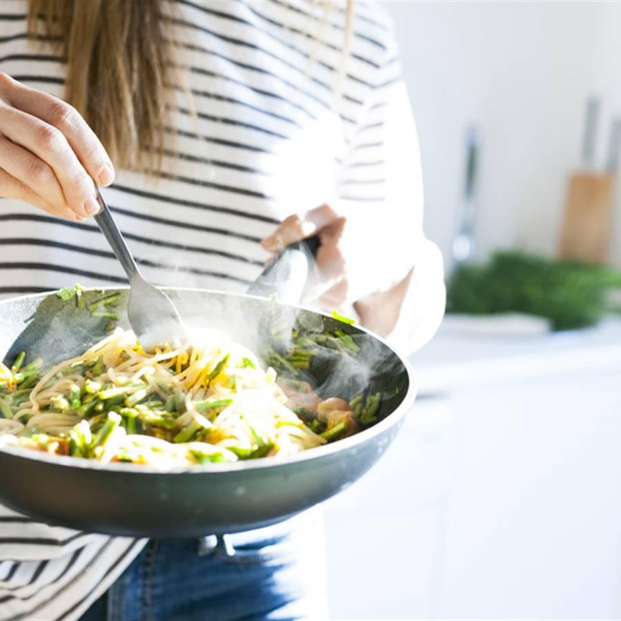 Cómo cocinar sobras de pasta, arroz, pan, verduras, leche de coco o limón