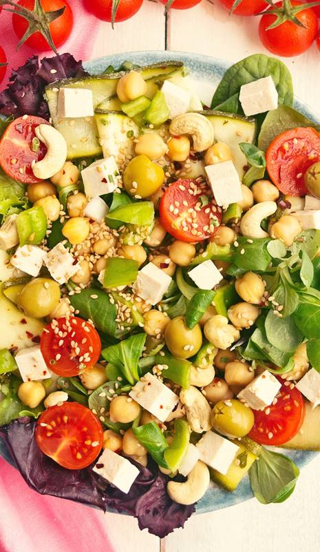 Dieta solo proteinas y vegetales