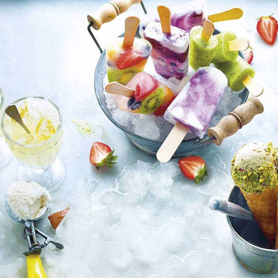 6 helados caseros fáciles y sin heladera