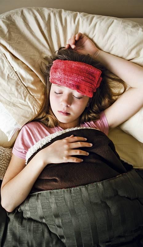 Como bajar la fiebre de forma natural en bebes
