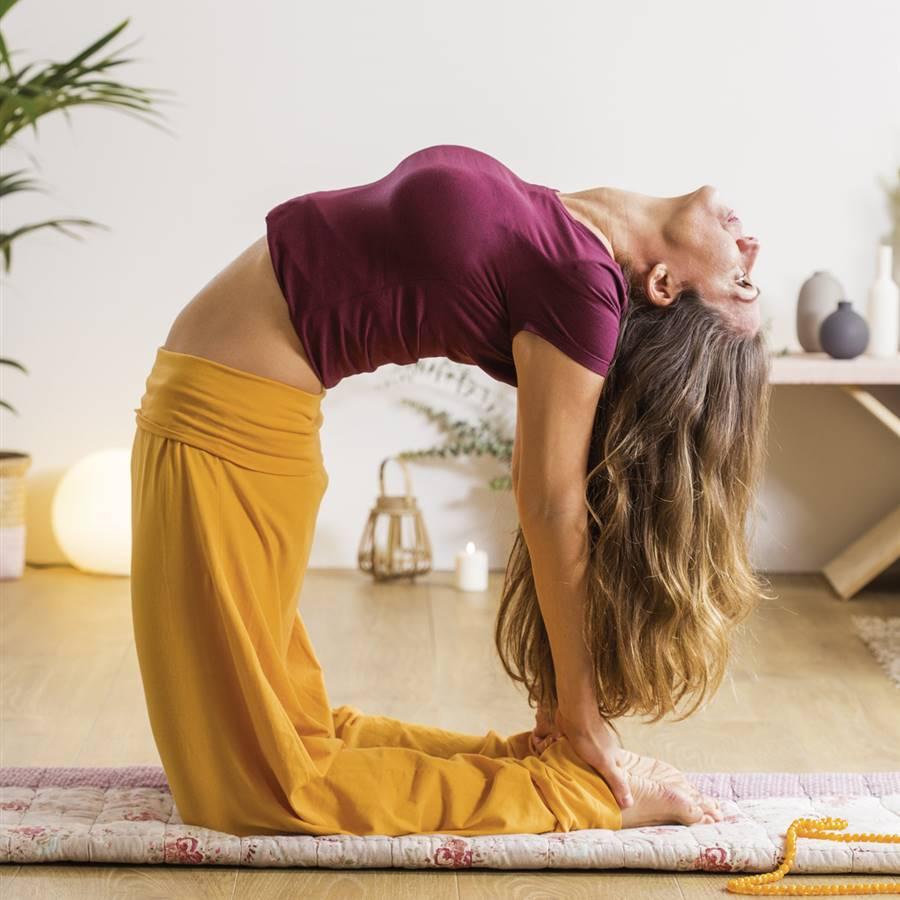 6 posturas de yoga para calmar tu ansiedad