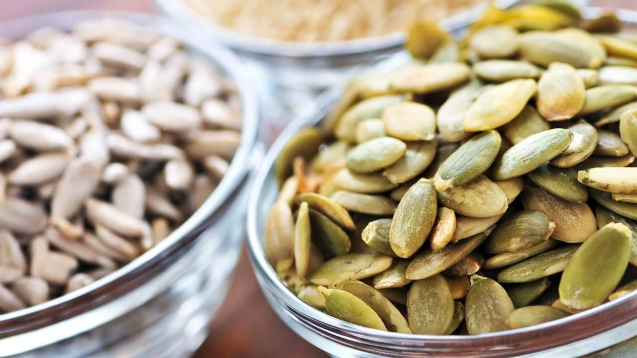próstata y semillas de calabaza e
