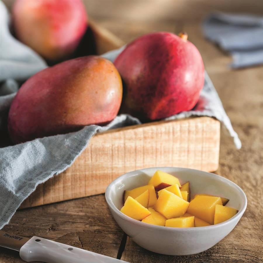 Calorias de un mango maduro grande