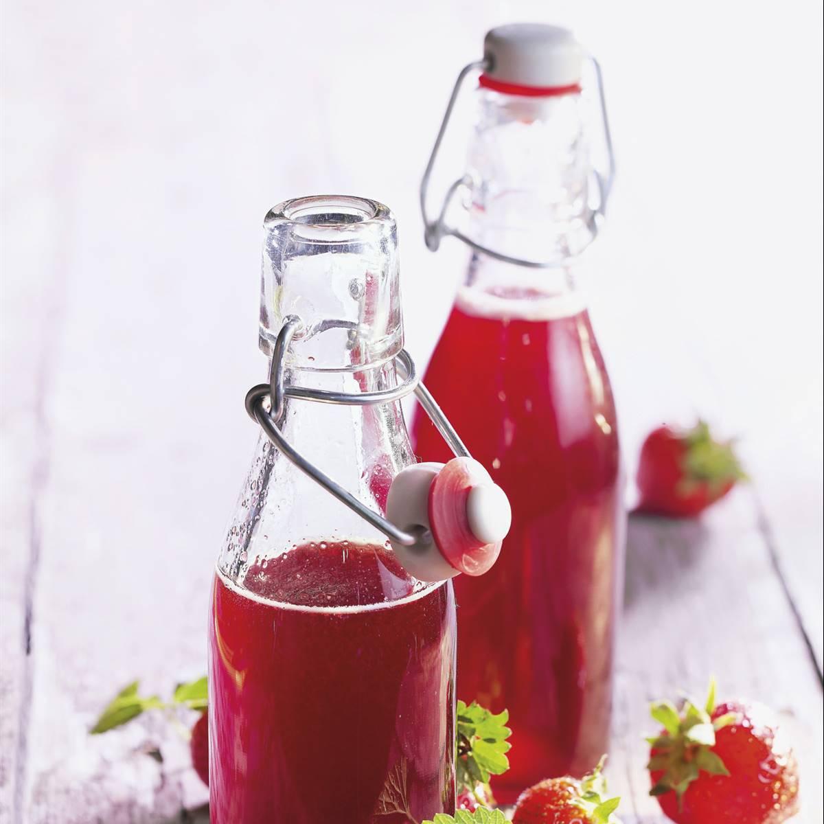 Sirope Antioxidante De Fresas Con Zumo De Limón