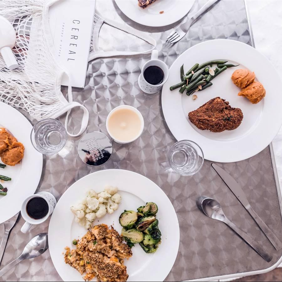 Tu menú vegano semanal para el mes de abril