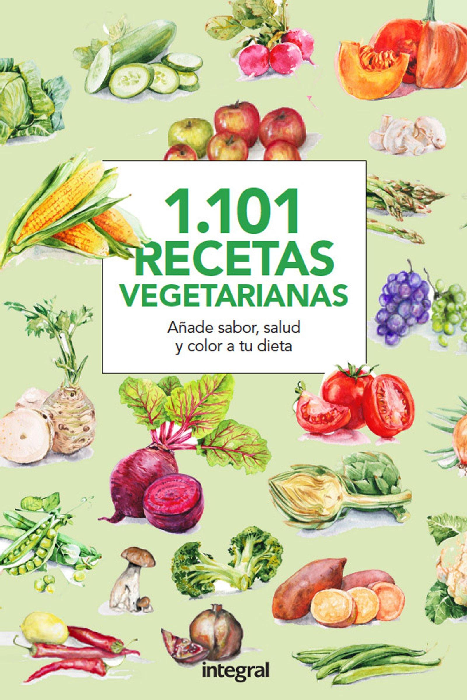 1101 Recetas vegetarianas (RBA)