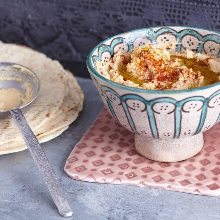 10 recetas originales con hummus para preparar en casa