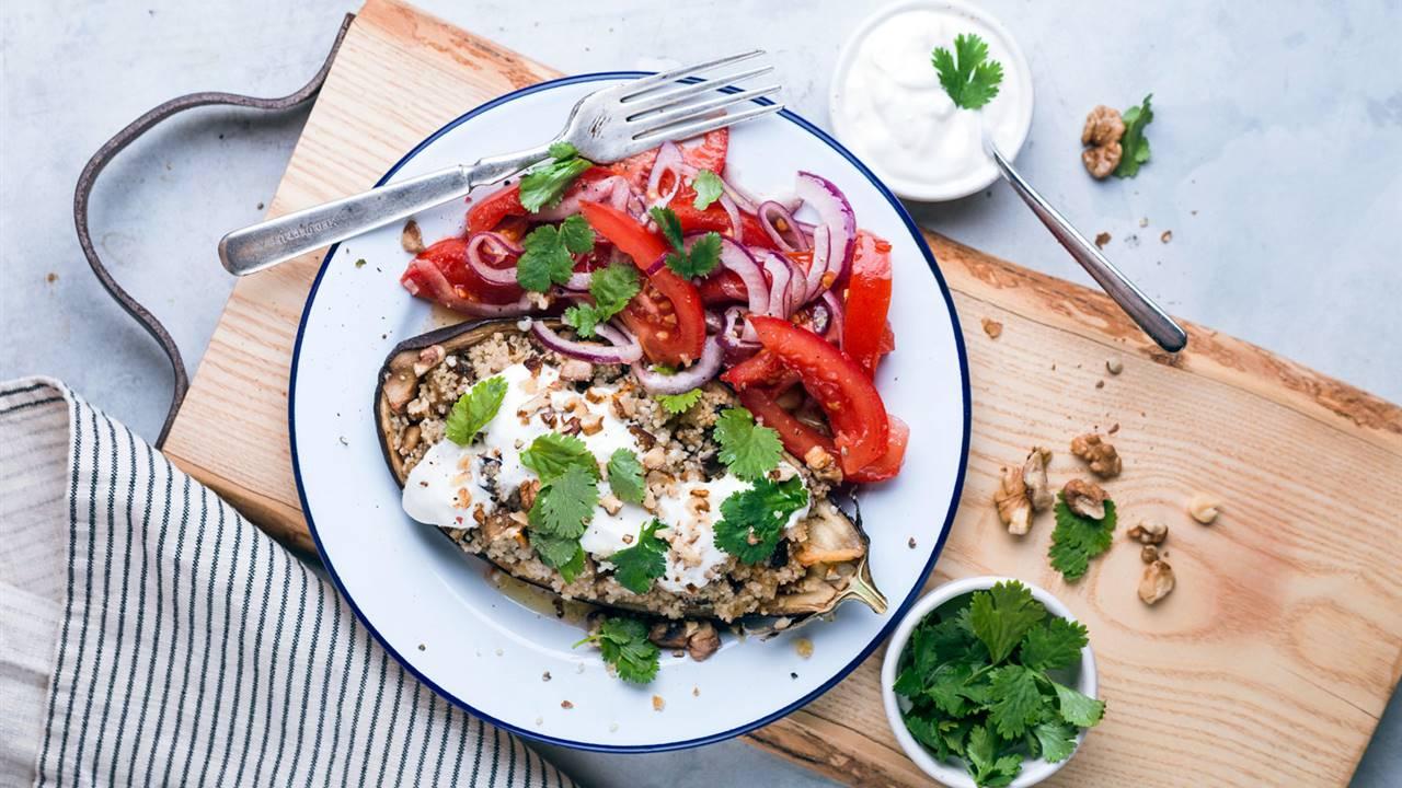 Tu menú vegano semanal de agosto