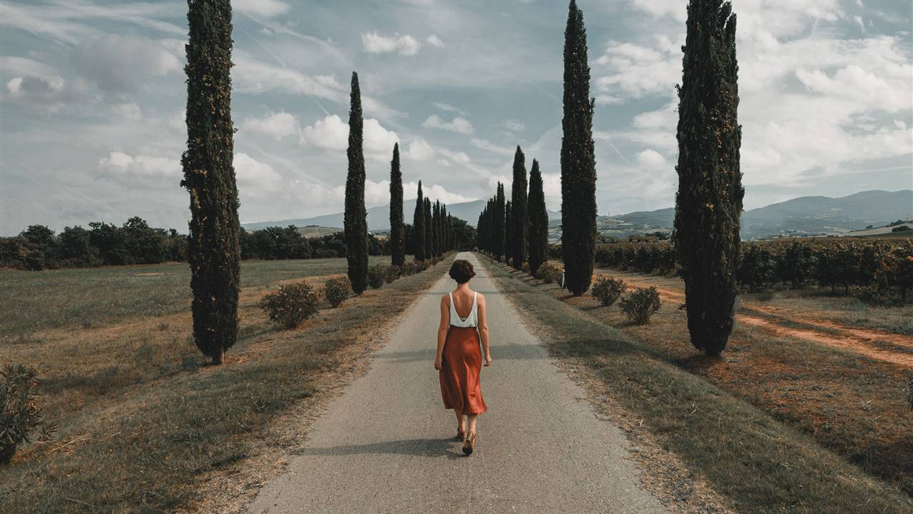 Meditación contemplativa mientras paseas allá donde estés
