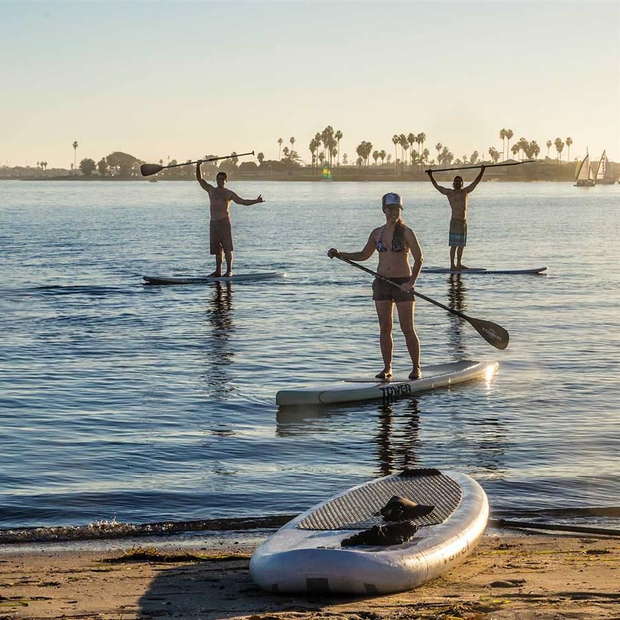 Beneficios para el cuerpo y la mente de practicar paddle-surf