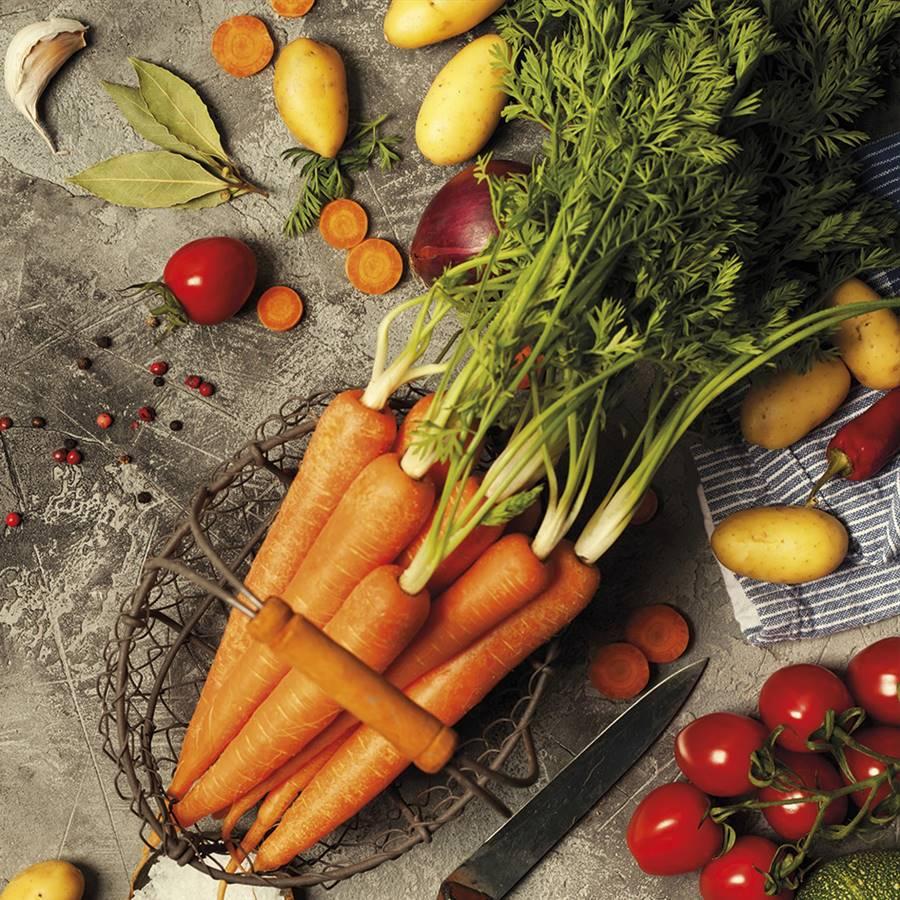 10 formas curiosas de aprovechar los restos de vegetales