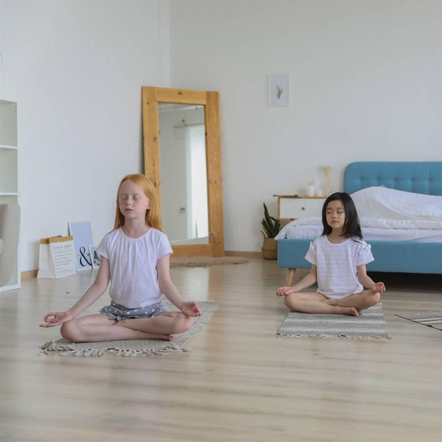 Meditación guiada para niños y niñas