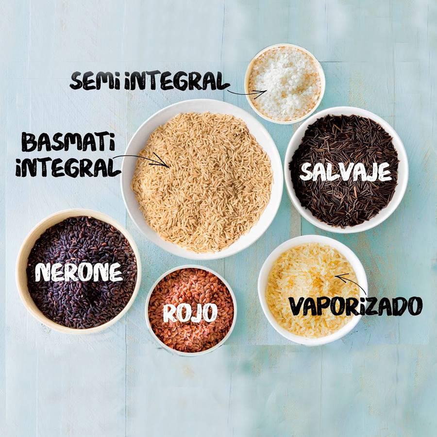 Los 6 tipos de arroz más saludables y sus propiedades