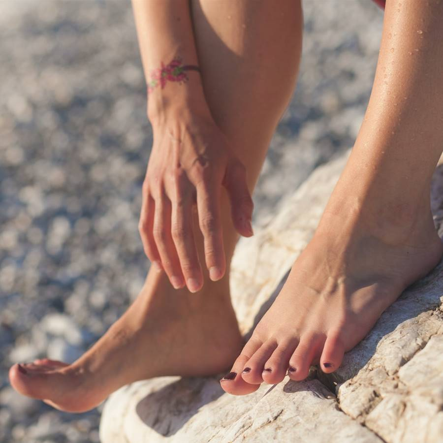 Tratar la ansiedad y el dolor de espalda con masajes en los pies