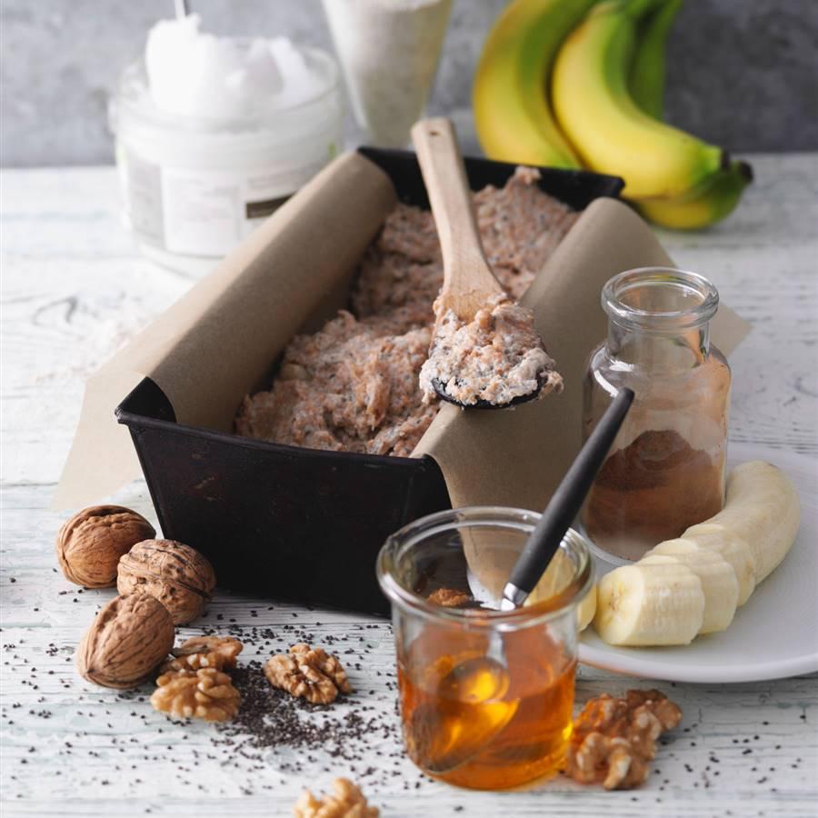 Harina de plátano, sin gluten y rica en almidón resistente